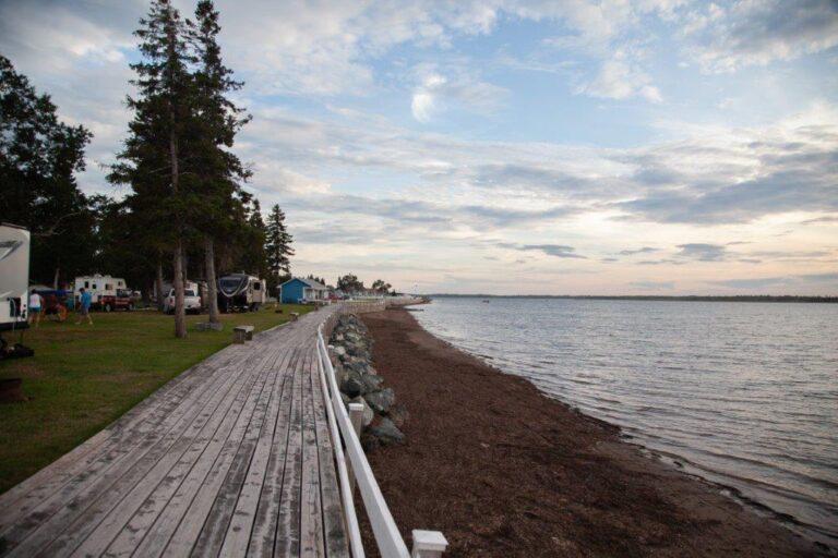 Passerelle Camping Shippagan - Attrait - Activité Quoi faire Camping Shippagan - Nouveau-Brunswick N.B - Réservation - Plein Air