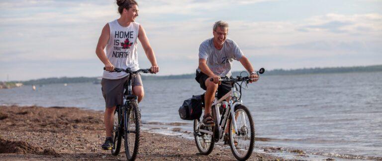 Vélo Camping Shippagan - Attrait - Activité Quoi faire Camping Shippagan - Nouveau-Brunswick N.B - Réservation - Plein Air