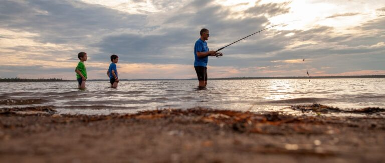 Pêche Camping Shippagan - Attrait - Activité Quoi faire Camping Shippagan - Nouveau-Brunswick N.B - Réservation - Plein Air