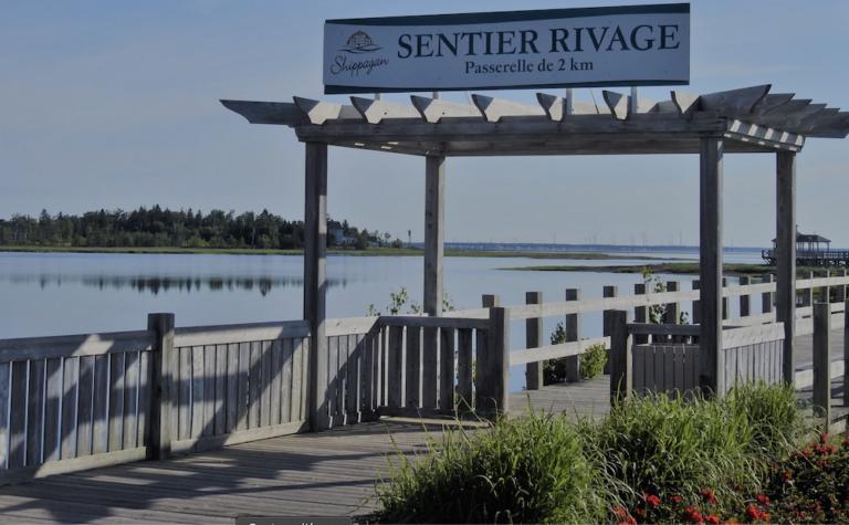 Sentier pédestre - Attrait Quoi faire Camping Shippagan - Nouveau-Brunswick N.B - Réservation Camping